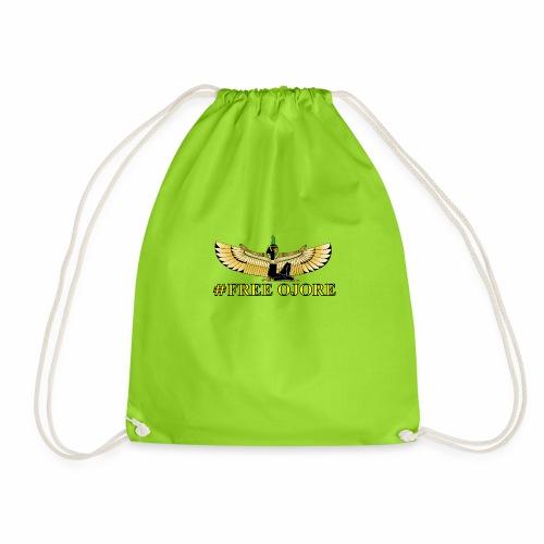 Maa-t yellow - Drawstring Bag