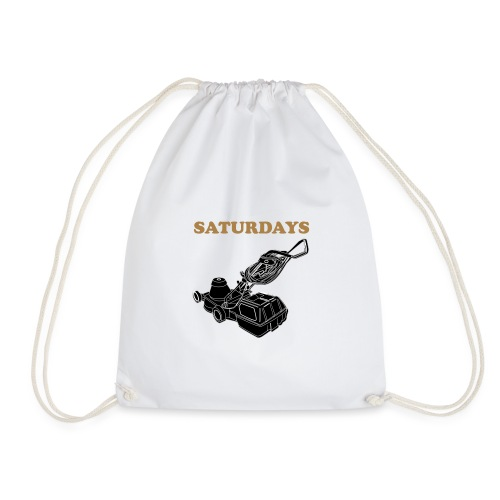 Saturdays Lawnmower - Drawstring Bag
