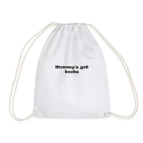 Mommy t-shirt baby - Drawstring Bag