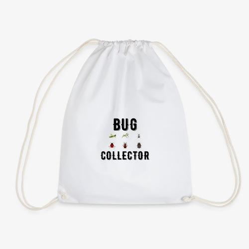 Illustrated Design For Bug Collectors - Drawstring Bag