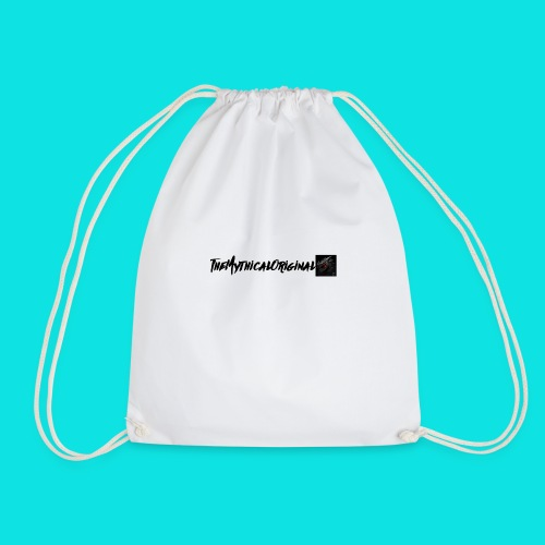 TheMythicalOriginal Design (White) - Drawstring Bag