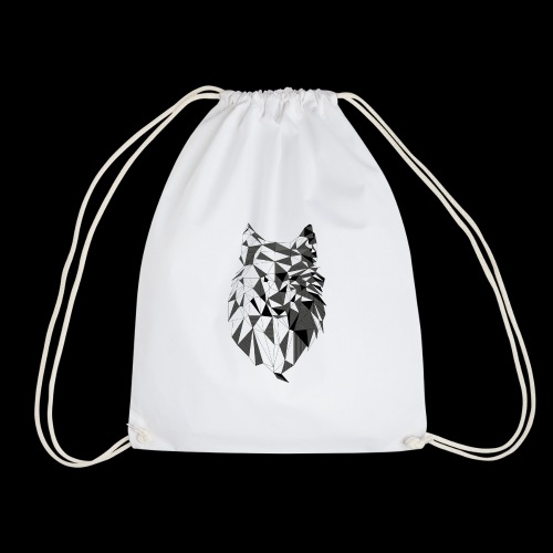 Polygoon wolf - Gymtas