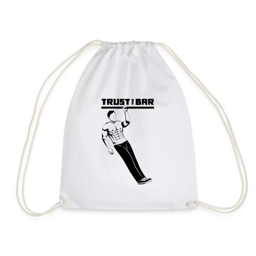 Trust The Bar OAP inv - Drawstring Bag