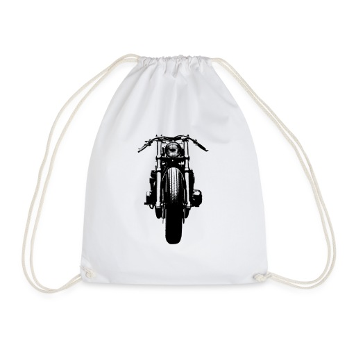 Motorcycle Front - Drawstring Bag
