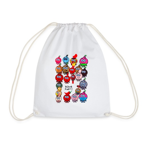 Bomb party - Drawstring Bag