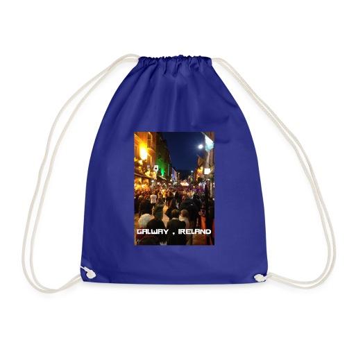 GALWAY IRELAND SHOP STREET - Drawstring Bag