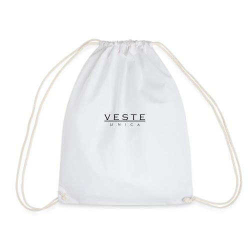 Mens white Vesta Unica Jacket - Drawstring Bag