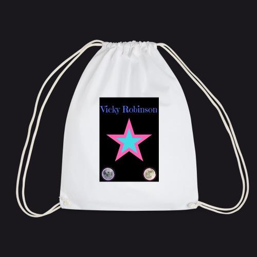 vic symbol - Drawstring Bag