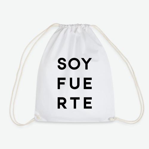 SOY FUERTE - Mochila saco