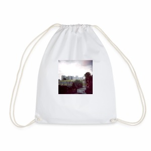 Original Artist design * Blocks - Drawstring Bag