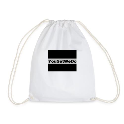 logo for case - Drawstring Bag