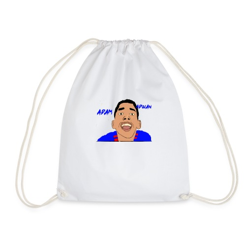 cartoon awesome merch - Drawstring Bag