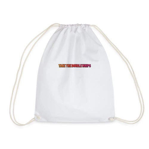 TAKE THE DOUBLE WHIPS ICON - Drawstring Bag