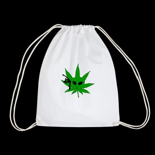 Alien Weed - Drawstring Bag