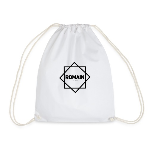 Romains Classic Black & White - Drawstring Bag