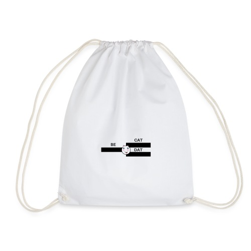 BE DAT CAT - Drawstring Bag