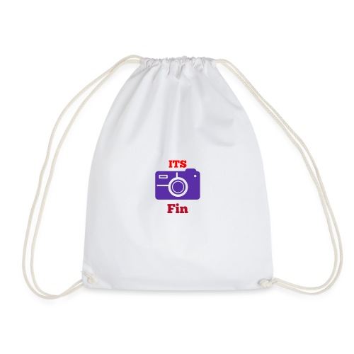 The logo stretch - Drawstring Bag