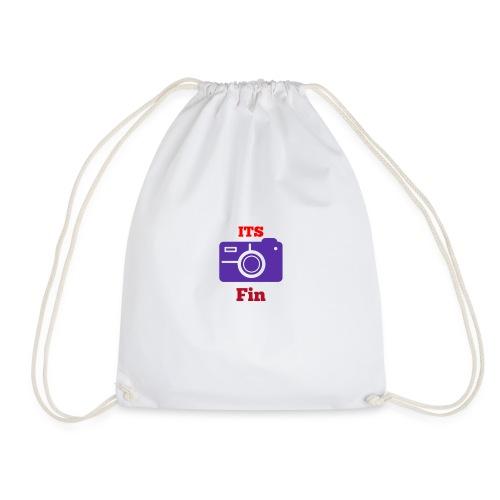 The logo stretch - Drawstring Bag