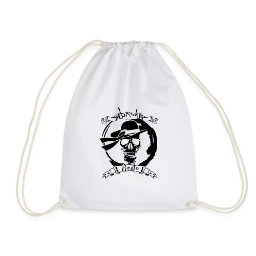 tatoo breizh pirate tete de mort crane banderole 1 - Sac de sport léger