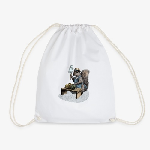 Squirrel nut cracker - Drawstring Bag