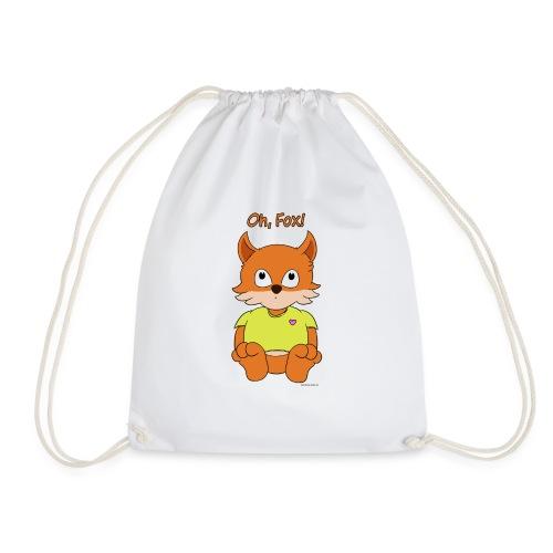 Oh, Fox! Cute mug - Drawstring Bag