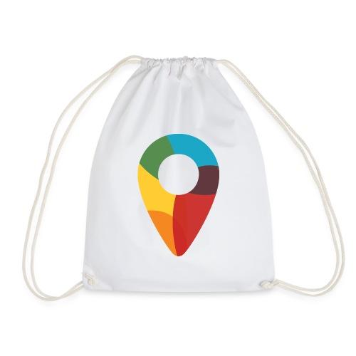 FoundedX monogram png - Drawstring Bag