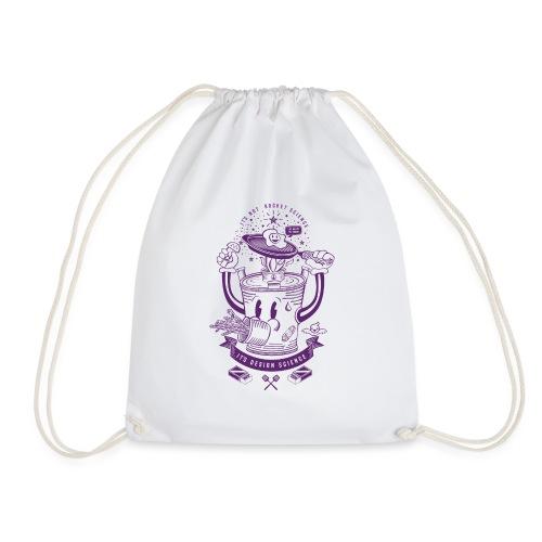 MR Rocket Stove (purple) - Drawstring Bag