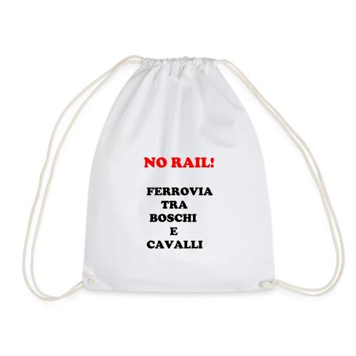 NO RAIL! - Sacca sportiva