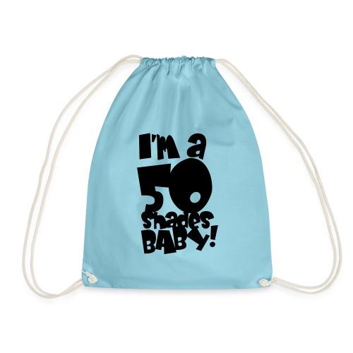 50 shades - Drawstring Bag