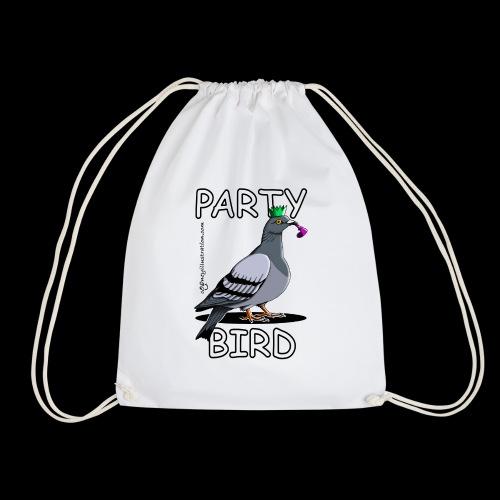 Party Bird - Drawstring Bag