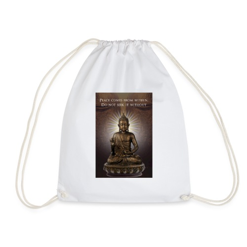 Peace from Within - Drawstring Bag