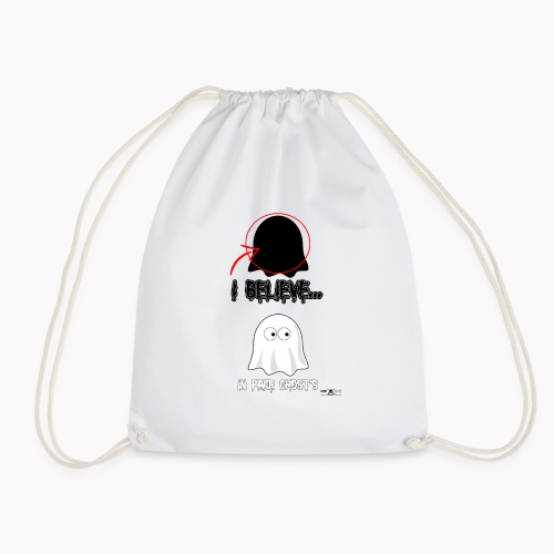 Lokey Reviews Official Spooky Ass Sunday Design - Drawstring Bag