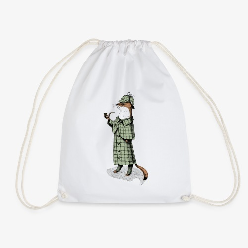 Stoat Detective - Drawstring Bag