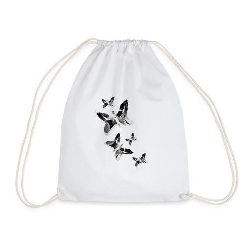 Schmetterlinge - Turnbeutel