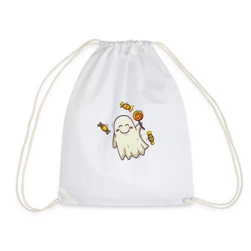 little cute ghost carrying candy - Sac de sport léger