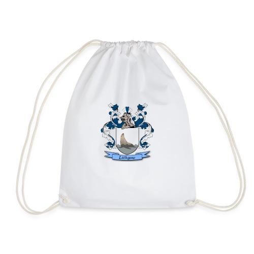 Lithgow Family Crest - Drawstring Bag