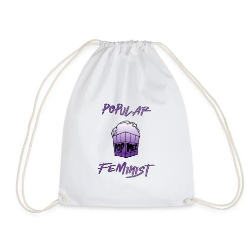 FemPop   Popular Feminist - Drawstring Bag