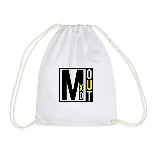 MXDOUT Square Logo - Drawstring Bag