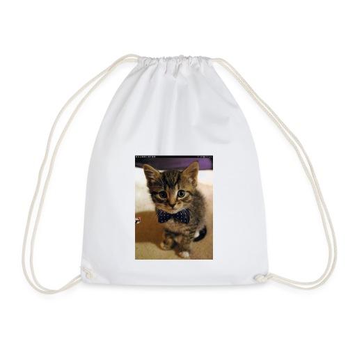 Kitten love - Drawstring Bag
