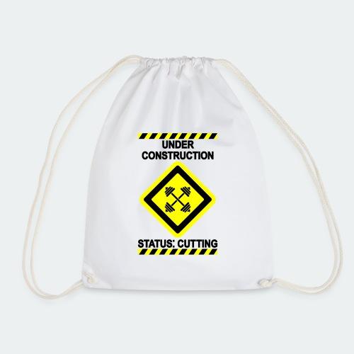 Under Construction - Cut - Drawstring Bag