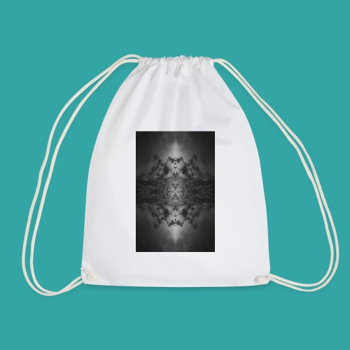 Foggy forest - Drawstring Bag