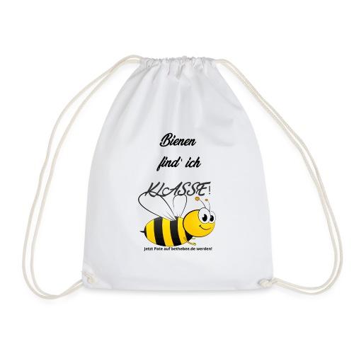 Tolle Biene Schwarz - Turnbeutel
