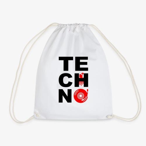 TECHNO VINILO - Mochila saco