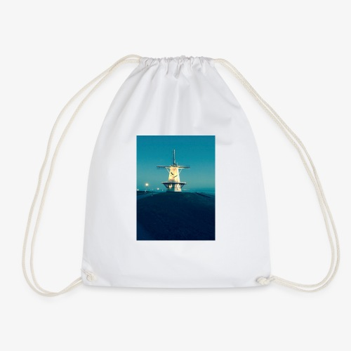 Windmühle an der Küste - Turnbeutel
