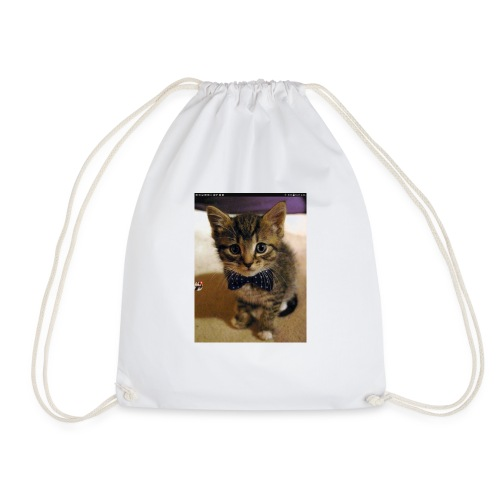 Kitten love - Drawstring Bag