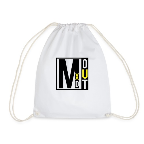 MXDOUT Square Logo - Drawstring Bag
