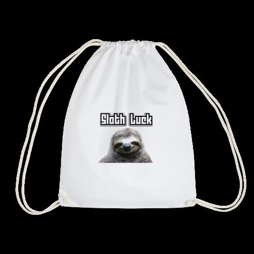 Sloth Luck - Drawstring Bag