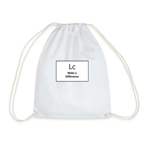 LC make a difference - Drawstring Bag