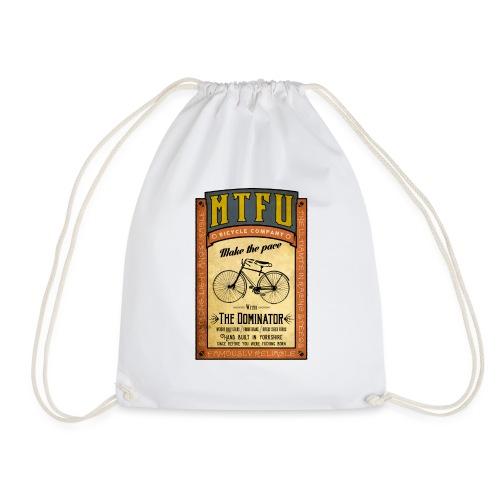 MTFU cycle poster - Drawstring Bag