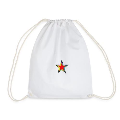 Colored star - Turnbeutel